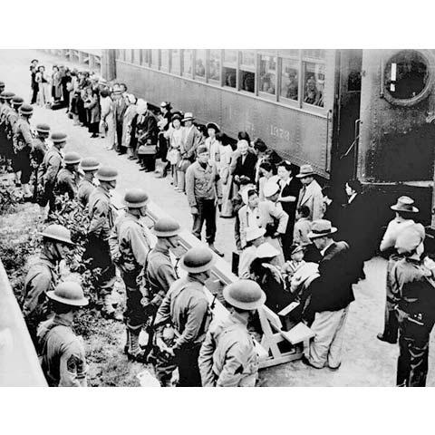 日本人の強制移住